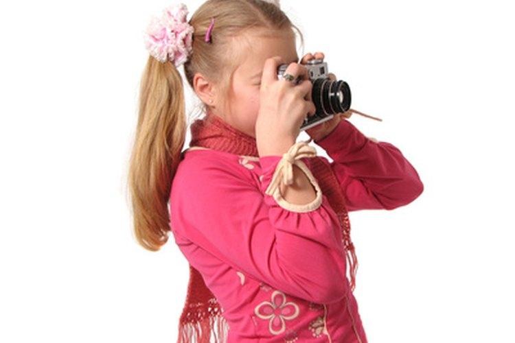 Las cámaras digitales son útiles para los niños.