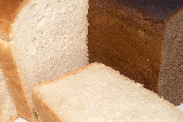 El pan casero puede hacerse con salvado de trigo.