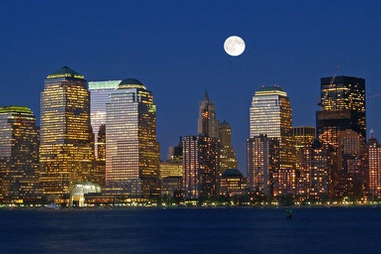 El horizonte de la ciudad de Nueva York