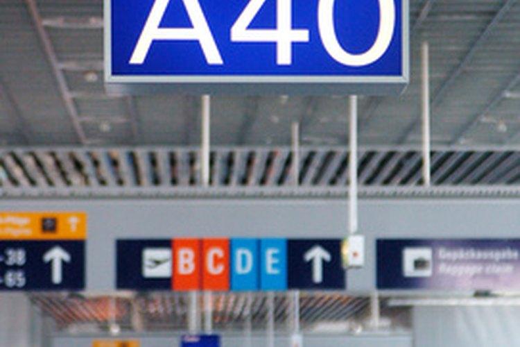 Los aeropuertos tienen acceso a las herramientas que el público no.