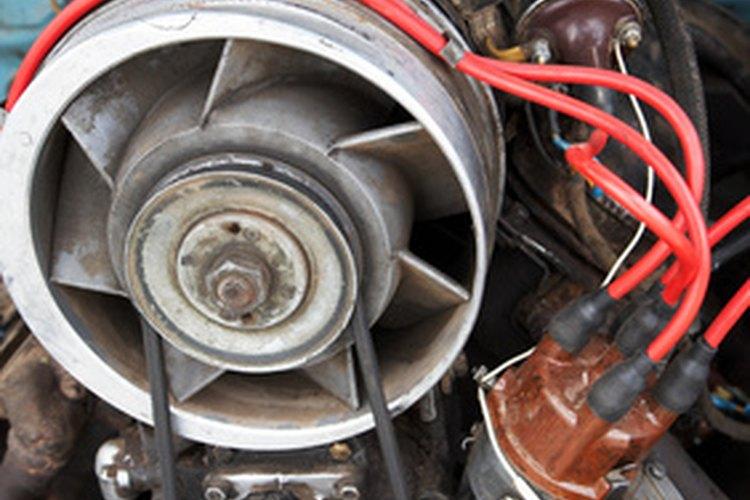Motor diésel de 4 cilindros.