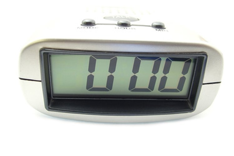 La primera vez que tengas tu reloj digital, tendrás que ajustar la hora.