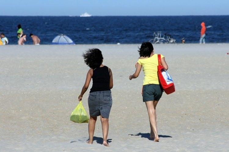 Las playas de Nueva Jersey son geniales para los niños.