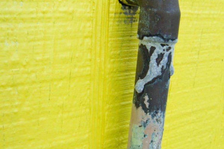 Los tubos de cobre proporcionan el agua de tu casa.