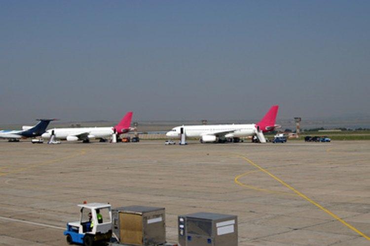 Los aeropuertos pueden atender a varios transportistas de pasajeros.