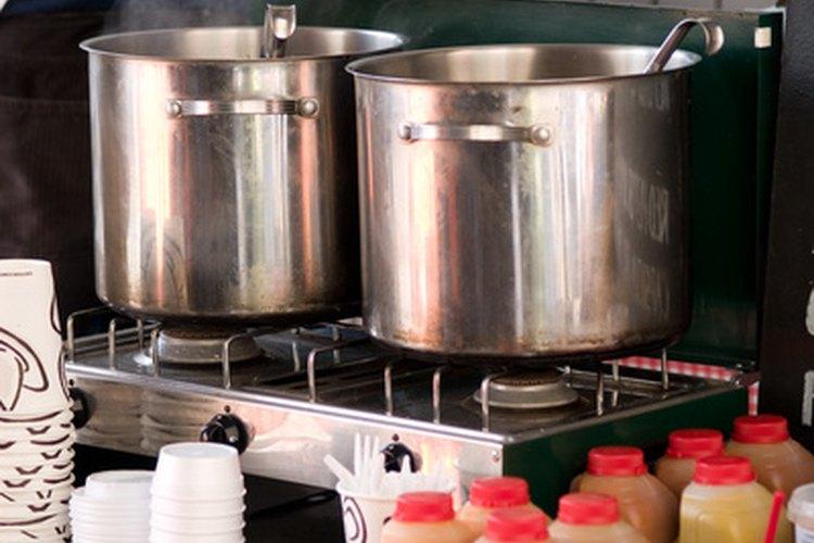 Las cocinas industriales deben ser limpias e higiénicas.
