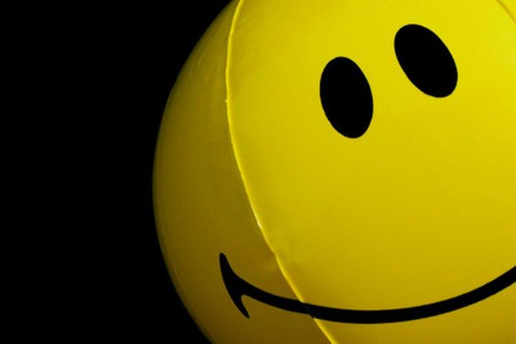 Los niños pueden crear listas de aquello que los hace sonreír.