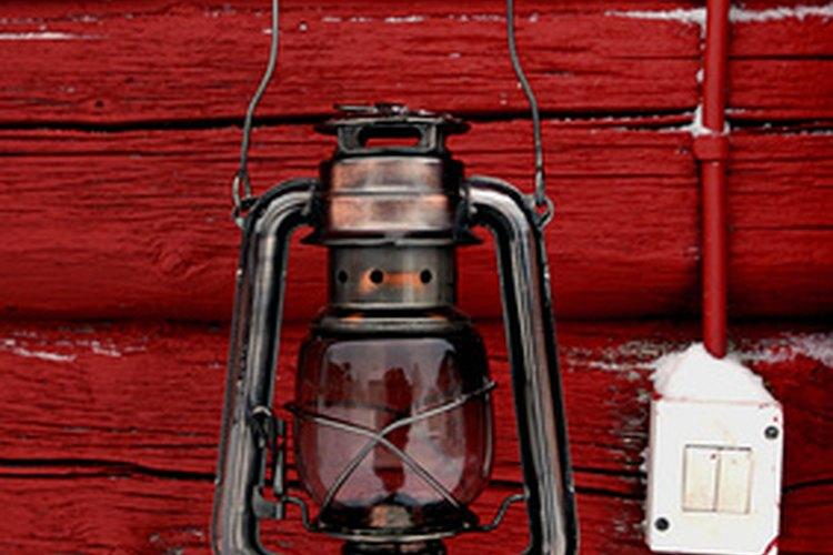 Los antiguos faroles de ferrocarril usaban queroseno.