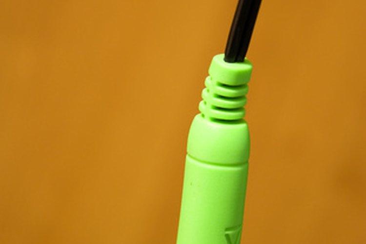 Un típico cable de audio del altavoz de PC.