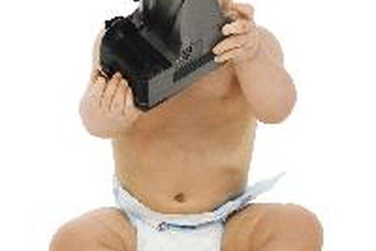 Toma todas las fotos que puedas de tu bebé.