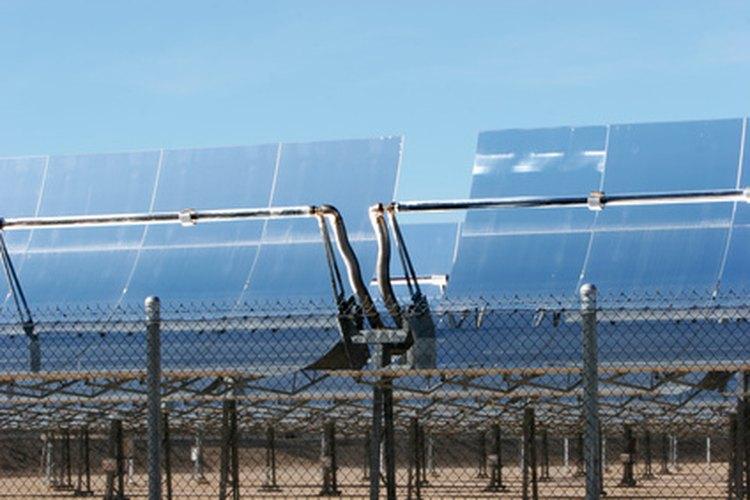 Paneles de captación solar