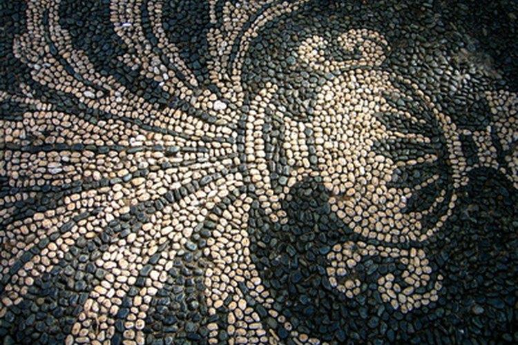 Los etruscos perfeccionaron el arte de dejar pequeños trozos de mármol, piedra caliza o cerámica en sus diseños de mosaico hace más de 2000 años.