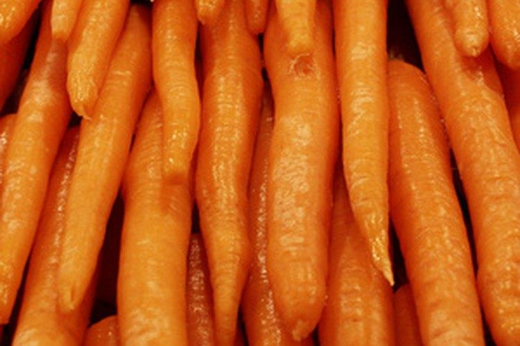 Las zanahorias ofrecen  la fibra que es saludable para el corazón.