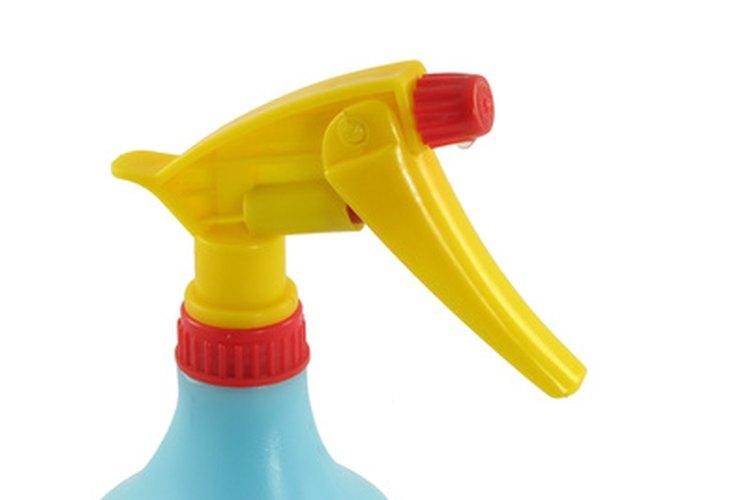 Aplica un pretratamiento en aerosol.