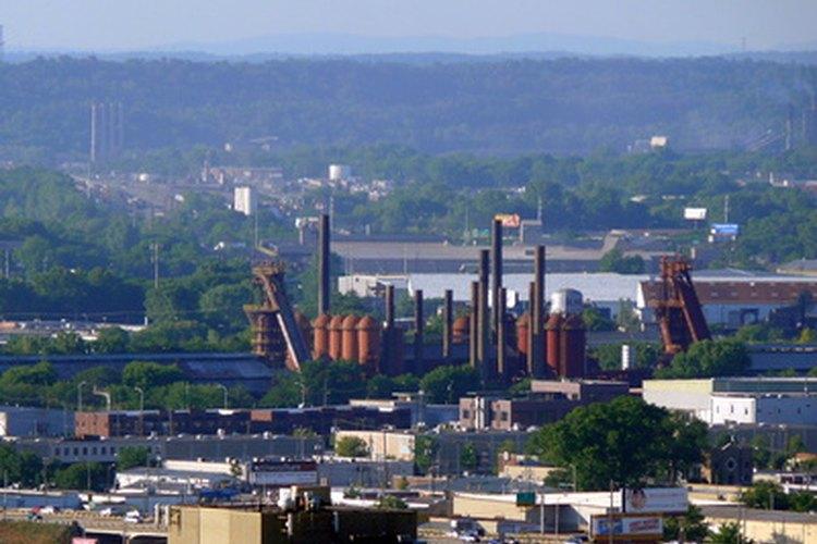 La revolución industrial dependía de los recursos naturales de la tierra.