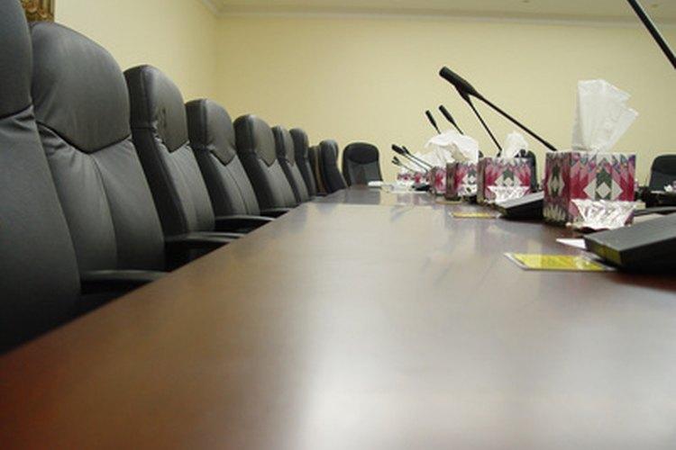 Sala de conferencias.