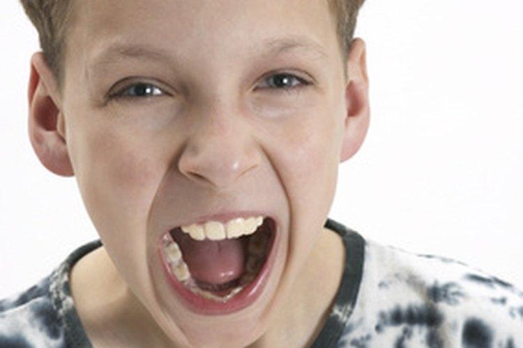 Lidiar con un niño gritón requiere de paciencia y control.
