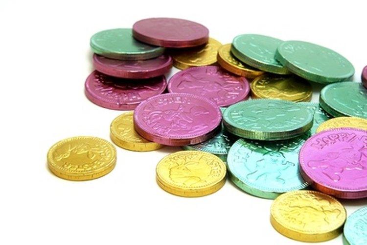 Las monedas de chocolate acostumbran a tener mucho éxito entre los niños.