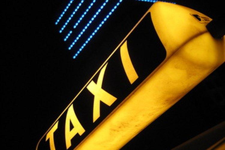 Los taxis están exentos de las leyes estatales sobre asientos infantiles.