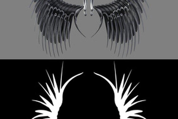 Las alas del ángel a menudo representan a los miembros fallecidos de la familia.