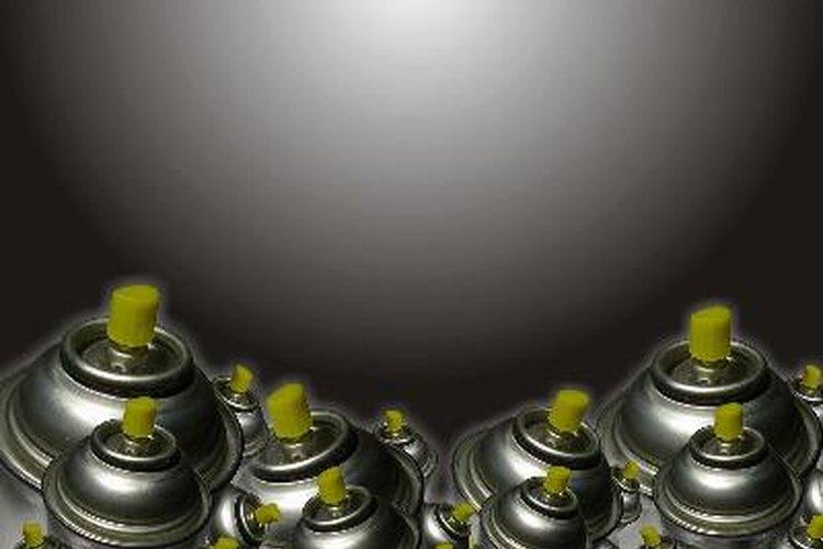 El propano se utiliza como gas propulsor en aerosoles.