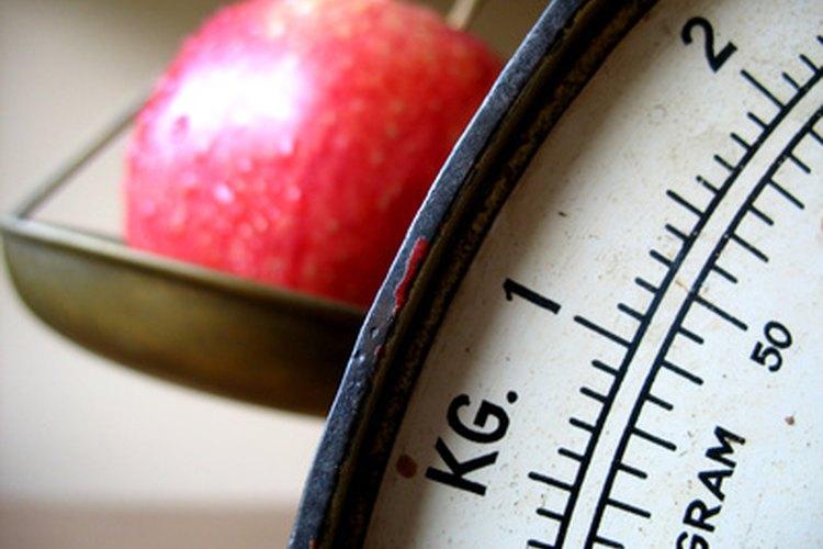 El peso se mide en una escala de ratio.