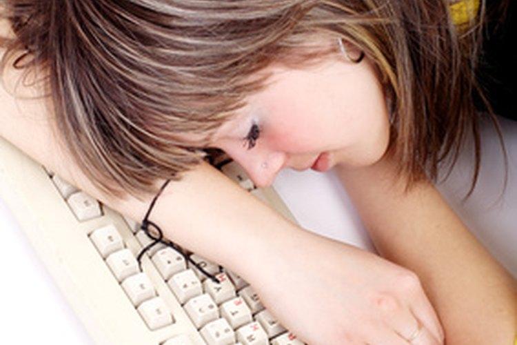 La vida adolescente es muy dura sobre todo cuando hay falta de sueño.