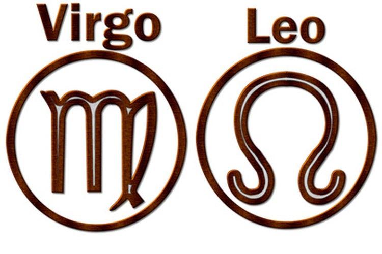 La pareja de Leo y Virgo.