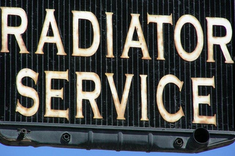 El purgado es un servicio esencial del radiador.