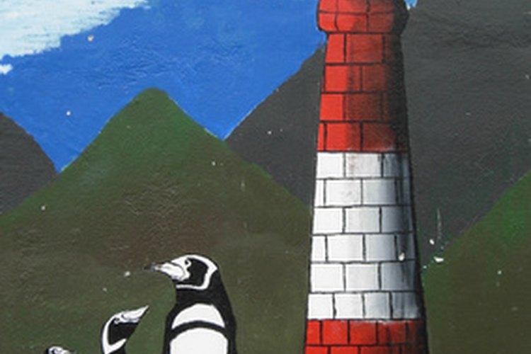 Los murales pueden removerse con aguarrás o disolvente de pintura.