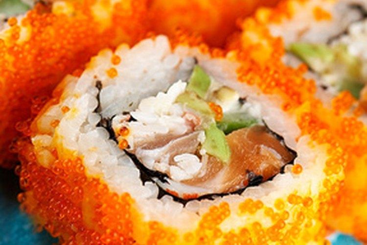 ¿Por qué no sushi? Una riquísima forma de incorporar salmón.