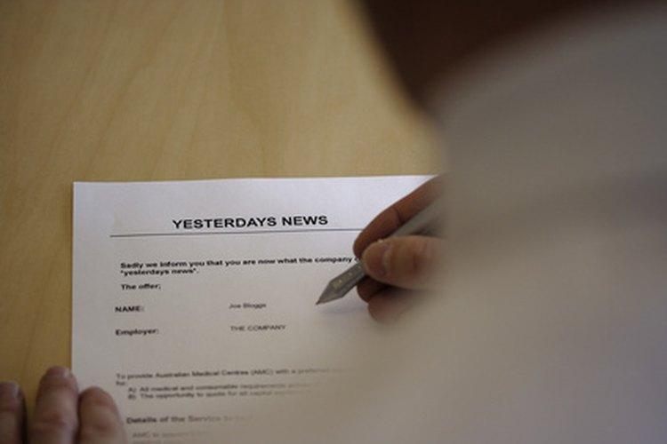 Hay varios tipos de cartas de solicitud.
