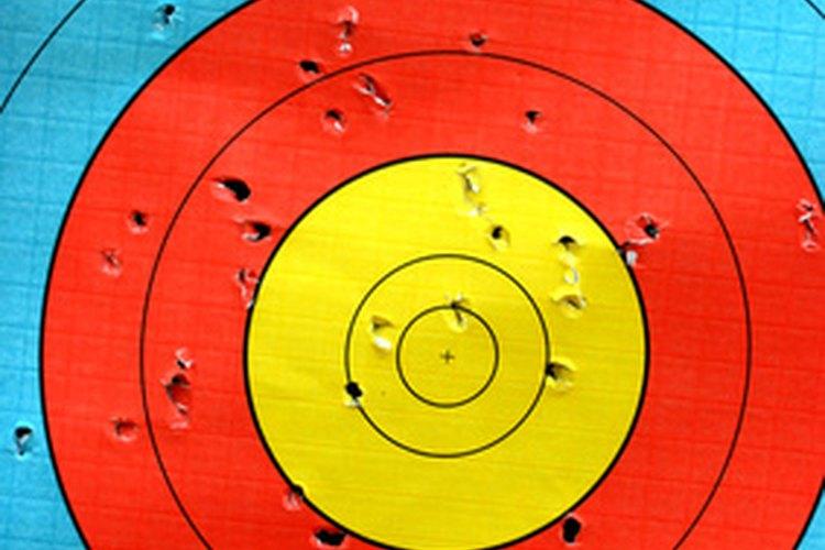 Puedes practicar tiro al blanco en varios parques.