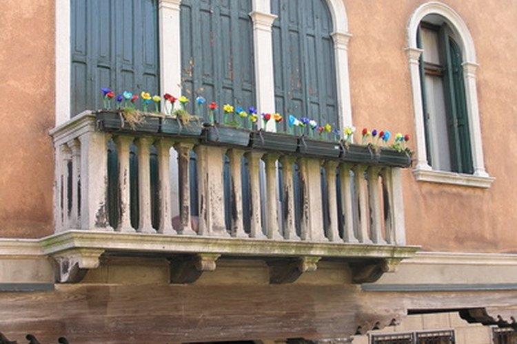 Cómo construir un balcón.