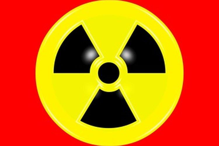 La energía nuclear aparece en forma de radiación.