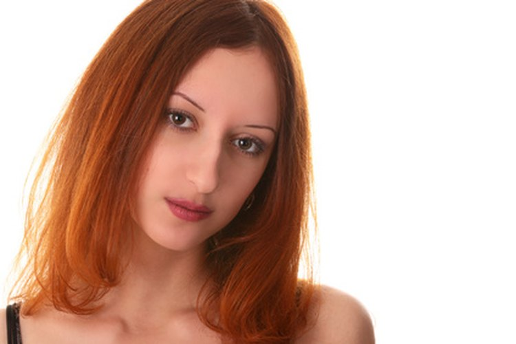 El color del pelo rojo viene en varios tonos y matices.