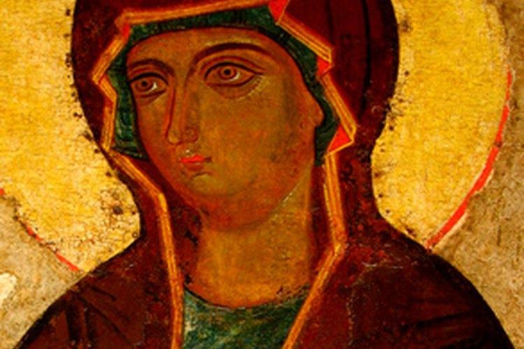 Las obras de arte religioso son un regalo apropiado para el día del bautizo.