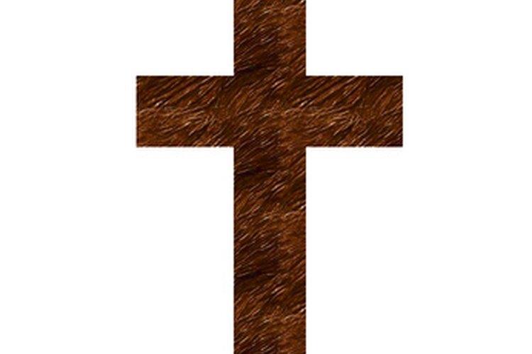 Una cruz puede hacerse de cualquier tipo de madera.