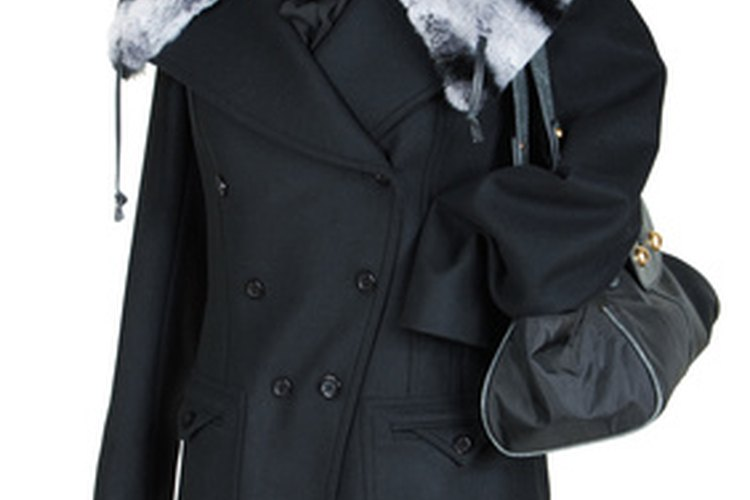 Vendo abrigo de piel