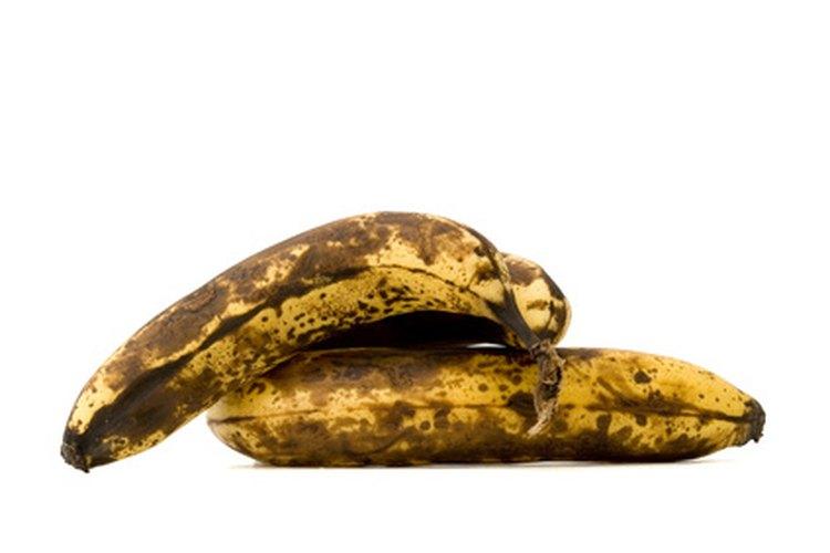 Cómo utilizar plátanos demasiado maduros.