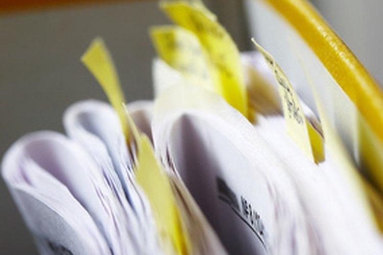 Existen varios tipos de documentos.