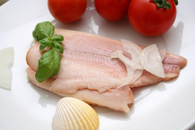 El pescado se sirve más a menudo como un filete.
