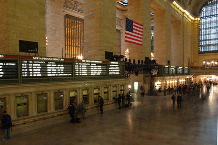 Grand Central Station: uno de los lugares más románticos de la ciudad de Nueva York.