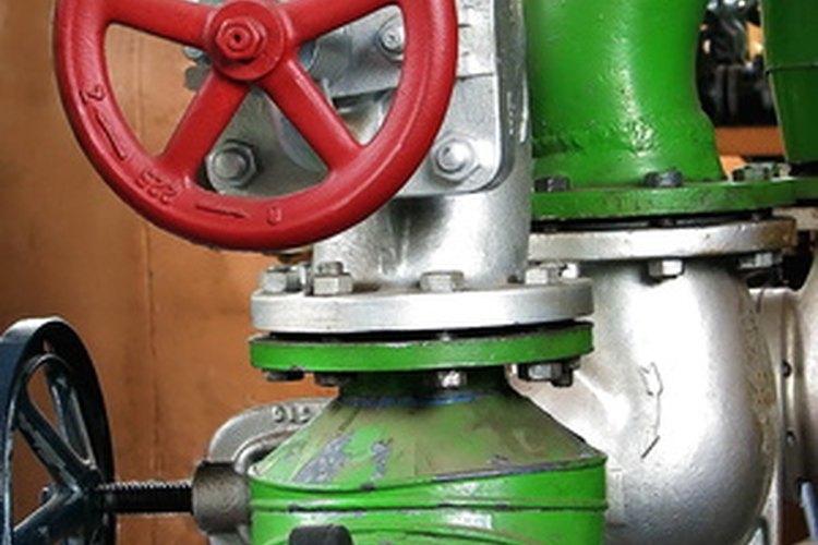 Las válvulas de control pueden tener fugas después de un período de uso.