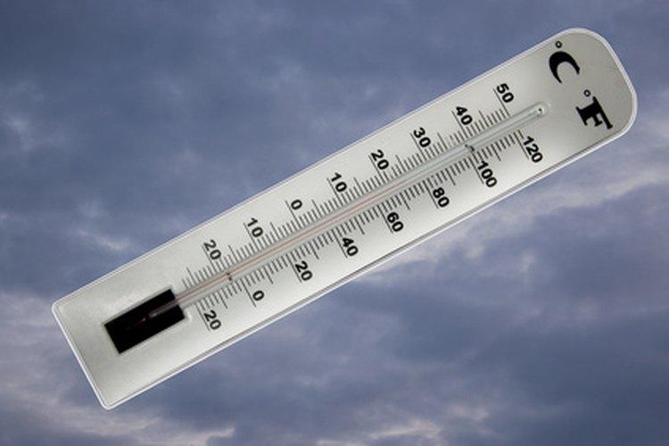 Dale un termómetro de papel a cada estudiante.