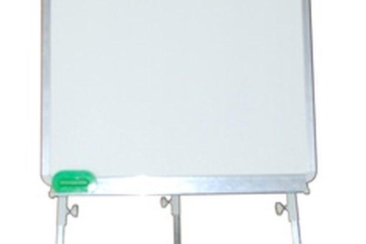 Haz tu propia pizarra blanca con esmalte brillante de alta protección.
