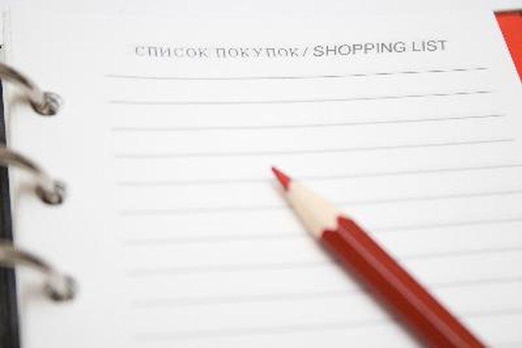 Una lista de las tareas del hogar puede ser de ayuda.