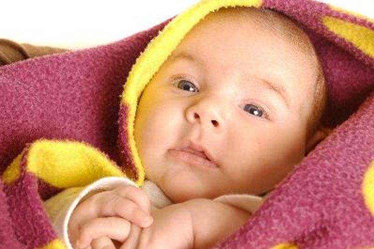 Estirarse es un paso importante en los bebés.