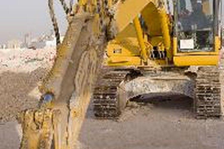 Las retroexcavadoras son muy útiles en la industria de la construcción.