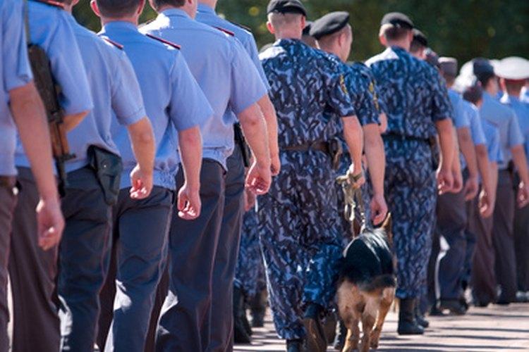 Los perros policía y sus manejadores comparten una estrecha relación.